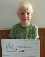 Isaac - First Grade