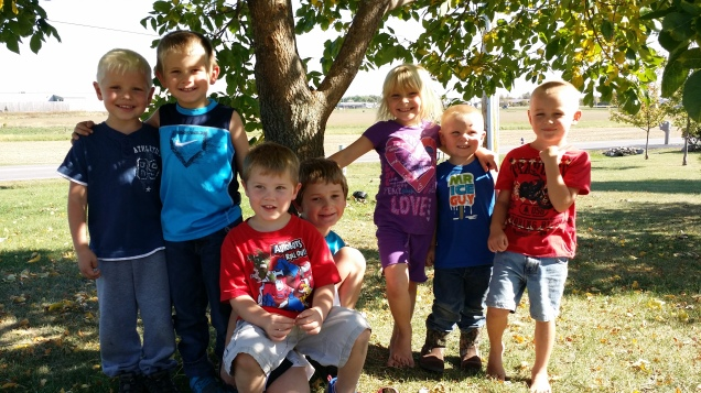 My Children with their cousins