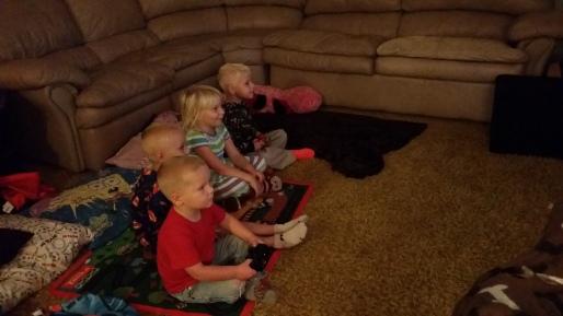 Kids enjoying some games